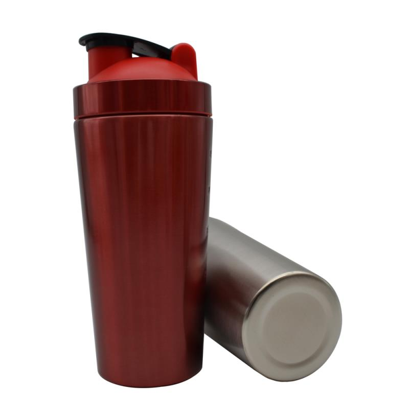 750ml Stainless Steel Protein Shaker Bottle
