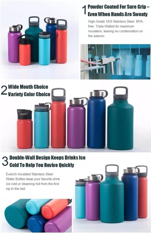 Stainless Steel Insulated vacuum Water Bottles