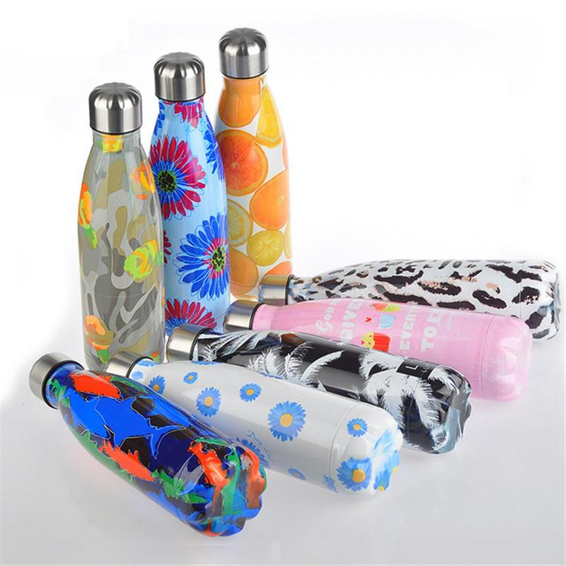 Amazon Hot Selling Outdoors Sports Wedding Vacuum Insulated Stainless Steel Water Bottle