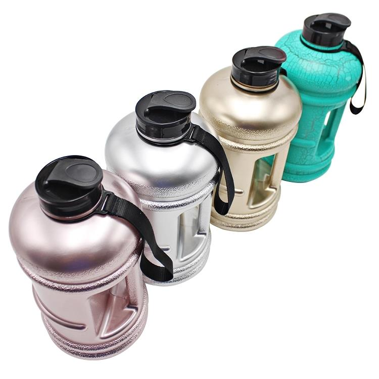 2.2L PETG custom sport bottle shaker private label joyshaking for gym plastic shaking water bottle bpa free