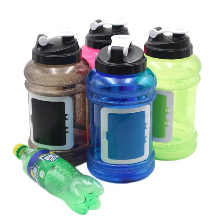 Plastic Type and Plastic Material 2.2l plastic water jug with handle/water bottle