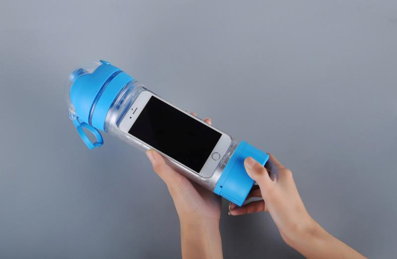 Best Sell Bottle Phone Storage Water Bottle