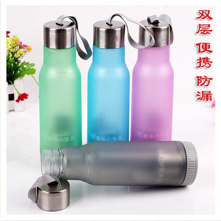 Plastic Water Bottle With Tea Filter
