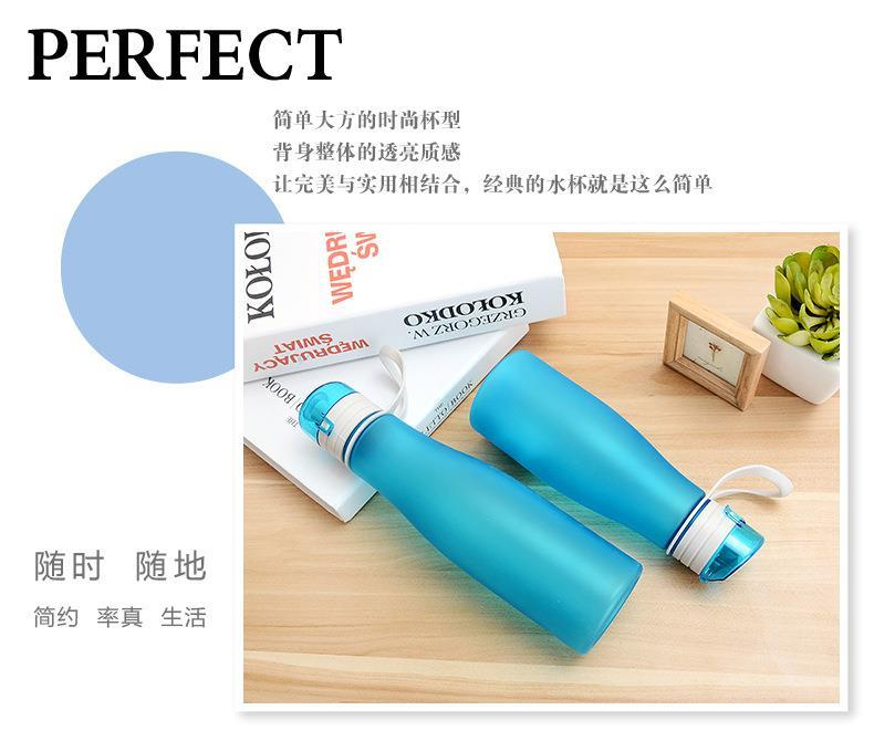 Plastic BPA FREE Water Bottle With Handle