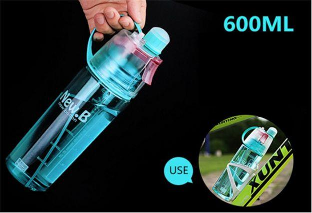 Sip and Mist Water Bottle
