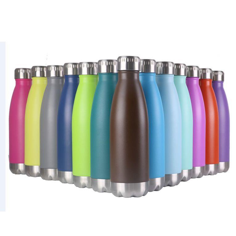 17oz Double Stainless Steel Water Bottle
