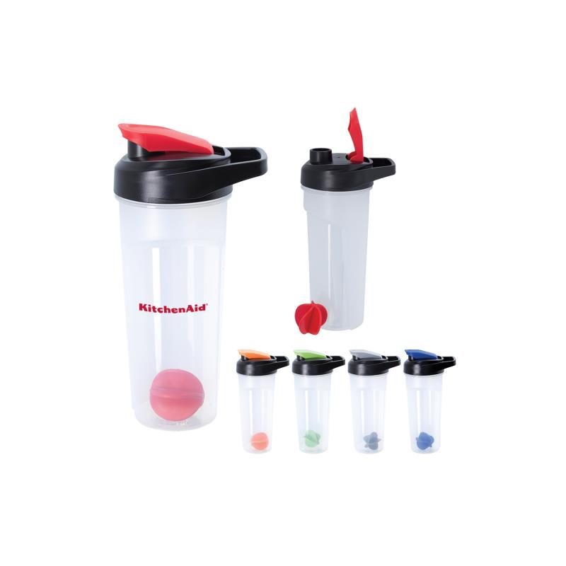 24oz Shaker Bottle with snap tight lid