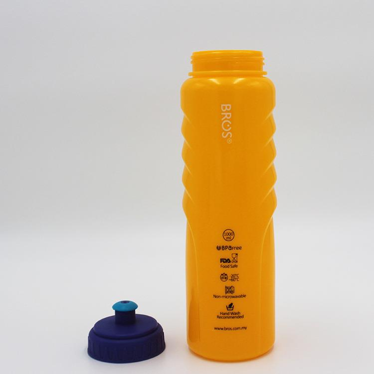 Large Volume Plastic Sports Water Bottle