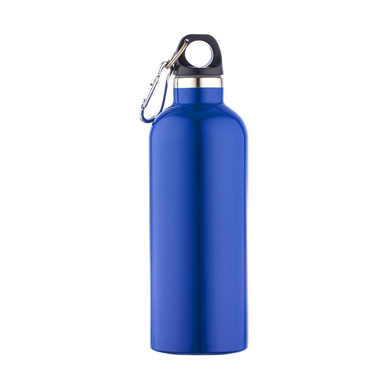 Plastic lid and stainless steel body metal sport bottle