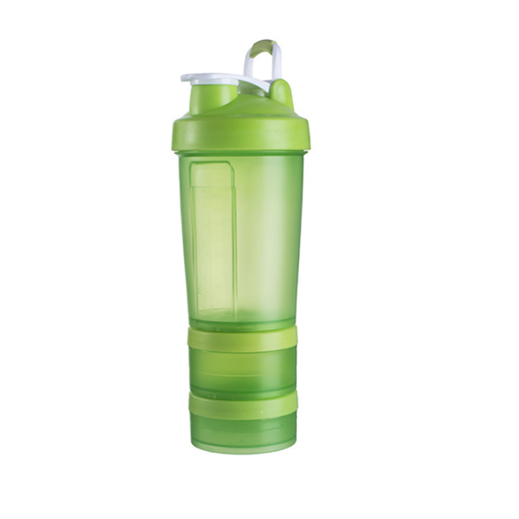 Mixing Ball 500ML BPA Free Plastic Custom Wholesale Shaker Bottle