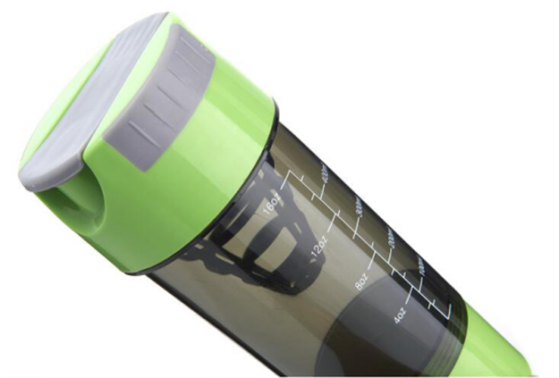 Muscle Shaker Bottle with Strainer