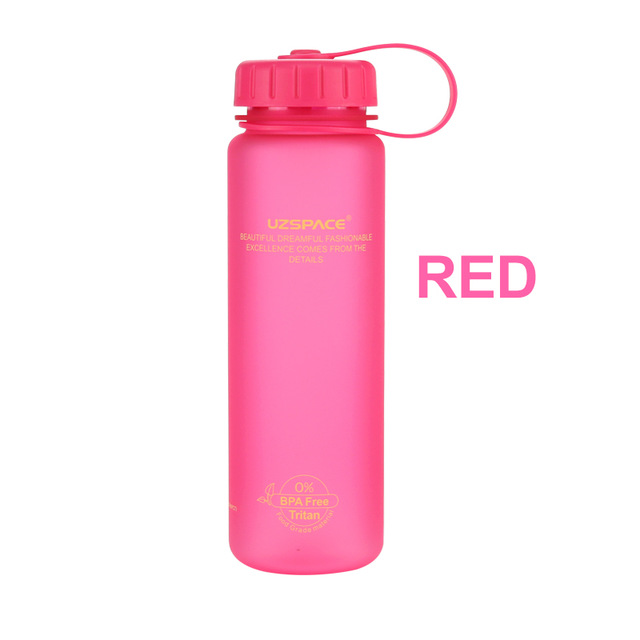 Customized bpa free sports plastic water bottle with soft touch