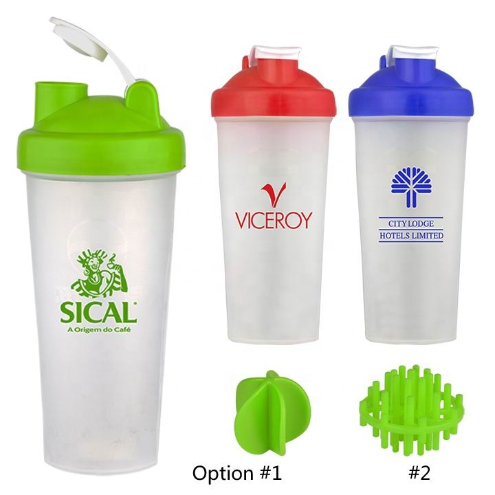 Promotional Personal Portable 600ML Shake Cup Protein Shaker Bottle Blende